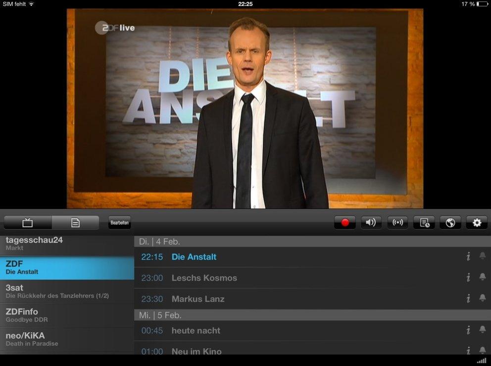 DVB-T-Tuner Tivizen pico 2: chaotische Sendersortierung