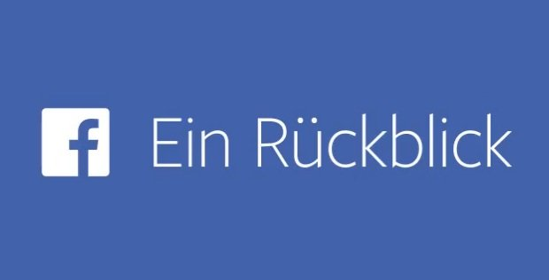 Facebook Video-Rückblick A Look Back