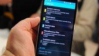 Samsung Galaxy S5: 16 GB-Modell bietet nur 8 GB freien Speicher