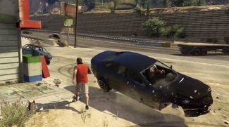 Grand Theft Auto 5 Carmageddon Mod: Oder wenn alle Autos in GTA 5 dich umbringen wollen (Video)