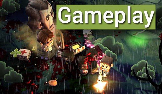 Gemetzel! MiniGore2 und Martian War im Android Gameplay (Bonus)