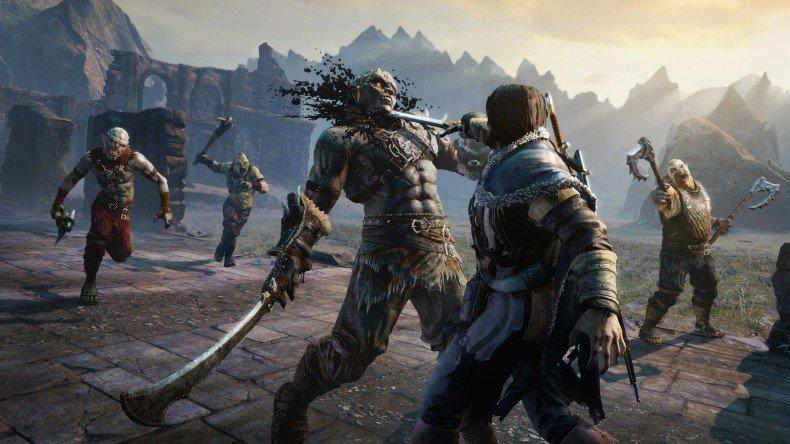 Mittelerde - Mordors Schatten: Auch ohne seine Kräfte als Wraith ist Talion ein gefährlicher Kämpfer