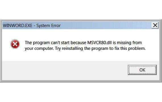 Msvcr80.dll fehlt - so behebt ihr das Problem