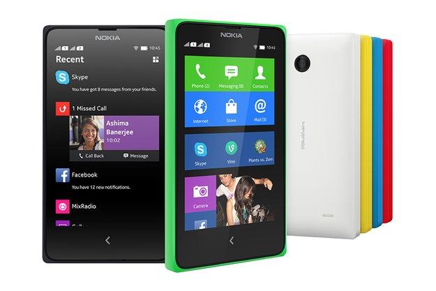 Nokia X & Nokia XL: Die ersten Android-Smartphones aus Finnland im Hands-On-Video [MWC 2014]