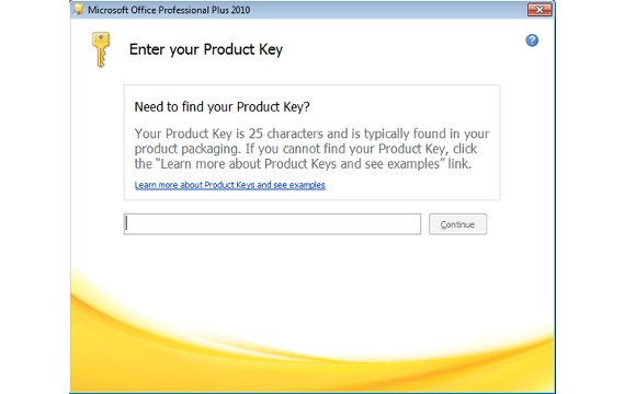 microsoft project 2010  32 bit product key