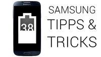 Samsung-Smartphones: Akku-Anzeige in Prozent darstellen