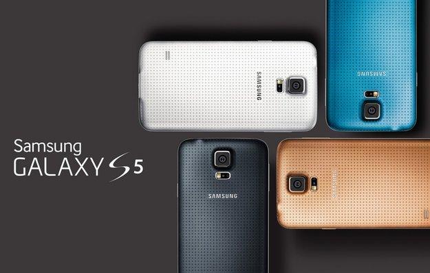 Samsung Galaxy S5: Neues Smartphone-Flaggschiff ab sofort vorbestellbar [MWC 2014]
