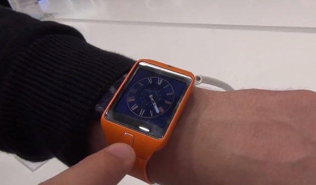 Samsung Gear 2 &amp&#x3B; Gear 2 Neo: Smartwatches im Hands-On Video [MWC 2014]