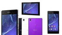 Sony Xperia Z2, Xperia Z2 Tablet & Xperia M2: Ab sofort vorbestellbar [MWC 2014]