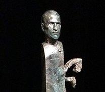 Steve-Jobs-Skulptur schmückt demnächst den Apple-Campus