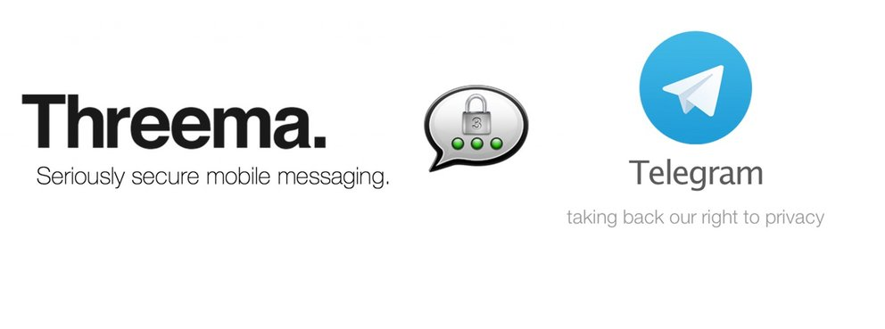 Threema &amp&#x3B; Telegram: Nutzerzahlen steigen in den Millionenbereich