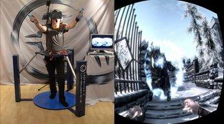Gut zu Fuß in Himmelsrand: Skyrim mit Virtual Reality-Setup gezockt