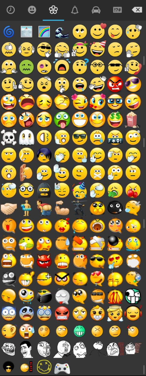 WhatsApp+-Emoticons