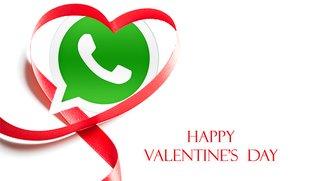 Valentinstag 2016: Schöne Sprüche für WhatsApp und Facebook