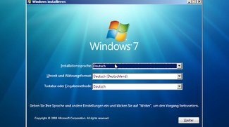 Windows 7: Neu installieren mit CD/DVD und ISO - so geht's
