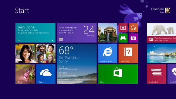 Windows 8.1 Metro UI