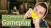Sony Xperia Z1 Compact Gameplay: Was taugt das kleine Handy unterwegs?