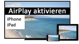 AirPlay mirroring auf iPhone & iPad aktivieren – so geht's