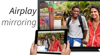 AirPlay mirroring auf dem iPhone und iPad aktivieren