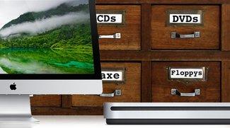Uralt-Technik am Mac: Faxmodems, SuperDrives und Diskettenlaufwerke