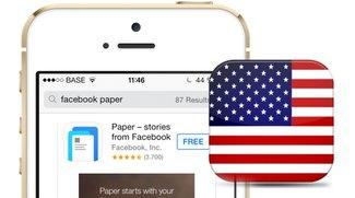 Apps mit deutscher Apple-ID aus den USA downloaden (App-Store-Tipp)