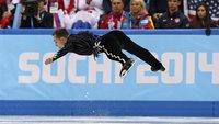 Olympia 2014 – 20 Fotos von Sportlern ohne Schwerkraft