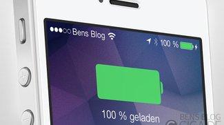 BattSaver für iOS 7: Cydia-App verlängert Akkulaufzeit