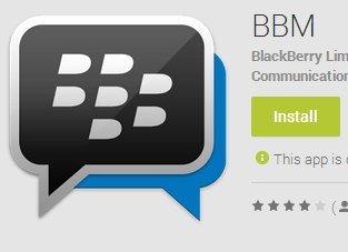 WhatsApp-Alternative: Blackberry Messenger für Android Gingerbread veröffentlicht!