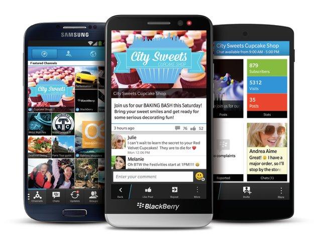 BlackBerry Messenger: Version 2.0 mit neuen Features erschienen