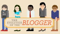 Die Evolution des Bloggers (Infografik)
