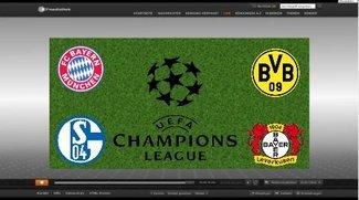 Champions League Auslosung im Stream: Halbfinale 2014 live im TV und online
