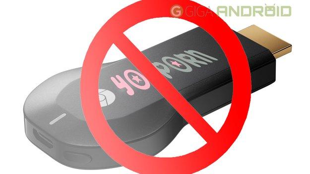 Keine Pornos für den Chromecast