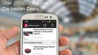 dealbunny.de: Android-App liefert laufend neue Schnäppchen [Gewinnspiel]