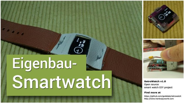 Smartwatch selber bauen: Do-it-yourself für wenig Geld!