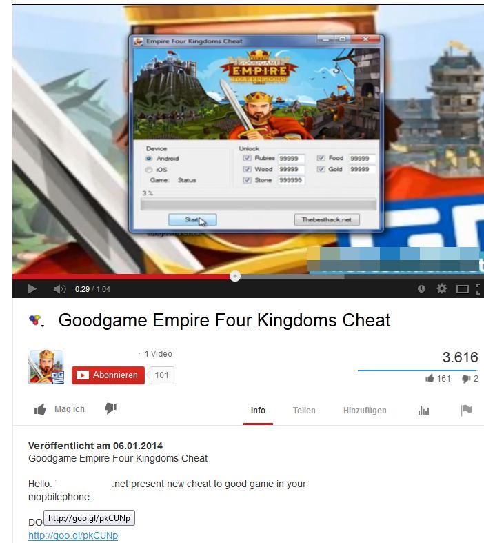 goodgame empire cheats rubine