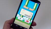Flappy Bird schlagen: mit Cheats oder auf ehrliche Art