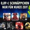 Gameloft-Spiele: Modern Combat 4, Order & Chaos Online und weitere kurze Zeit für 0,89...