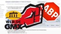 GMX & Web.de: Adblocker sind gefährlich, löscht sie lieber! (Update)