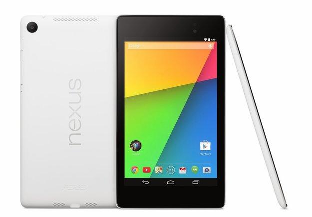 Google Nexus 7 (2013): Weiße Farbvariante kann vorbestellt werden