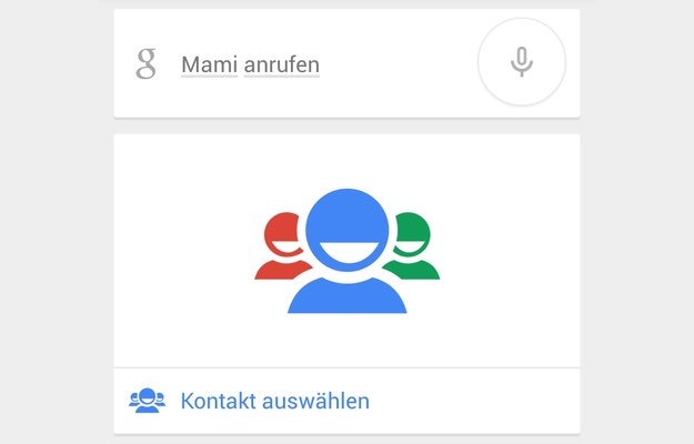 """Google Now: Sprachassistent kennt jetzt Verwandte, kann """"Mami"""" anrufen"""