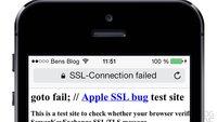 goto fail - CVE-2014-1266: Die SSL-Schwachstelle in OS X und iOS