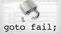 goto fail: Diese Apps und Daten sind von der SSL-Schwachstelle betroffen