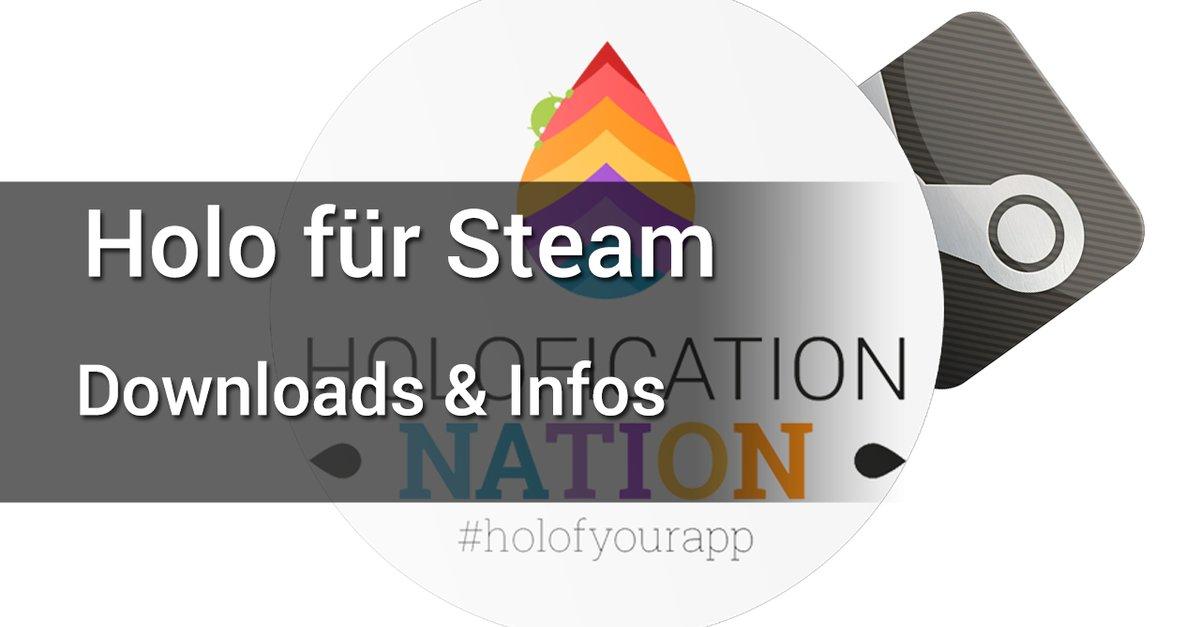 holo design f r steam giga android app. Black Bedroom Furniture Sets. Home Design Ideas