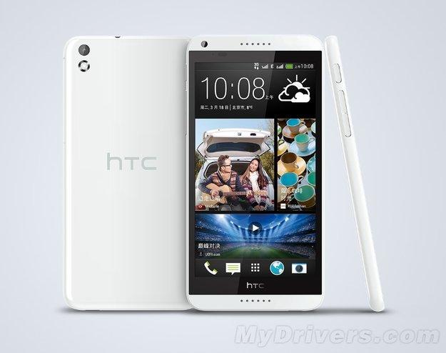 HTC Desire 8: 5,5 Zoll Phablet mit 13 MP-Kamera & Dual-SIM-Kartenslot geleakt