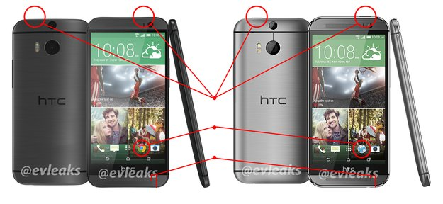 """HTC One (2014): Leaks aller drei Farbvarianten des """"All new One"""" zeigen Ungereimtheiten"""