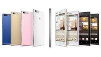 Huawei Ascend P7 mini & Ascend G6: Mittelklasse-Smartphones ab 249 Euro & Talkband B1 vorgestellt [MWC 2014]