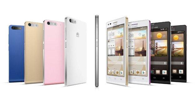 Huawei Ascend P7 mini &amp&#x3B; Ascend G6: Mittelklasse-Smartphones ab 249 Euro &amp&#x3B; Talkband B1 vorgestellt [MWC 2014]