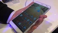 Huawei MediaPad X1 7.0: Schlanker 7-Zoller mit Telefonfunktion im Hands-On-Video [MWC 2014]