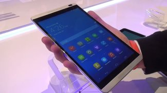 Huawei MediaPad M1 8.0: Schickes Multimedia-Tablet im Hands-On-Video [MWC 2014]
