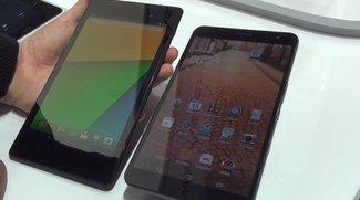 Huawei MediaPad X1 7.0: Videovergleich mit dem Nexus 7 (2013) [MWC 2014]